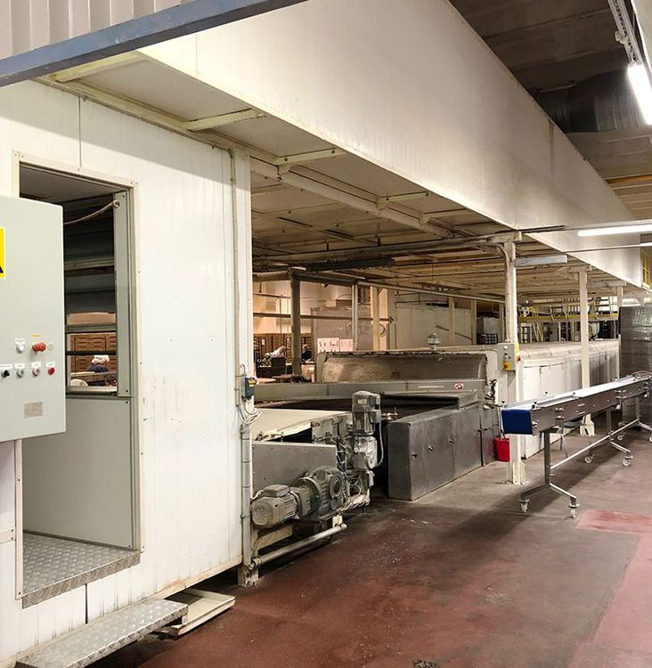 Benier, Hartmann, WP bread line 1930  - 2100 pieces per hour