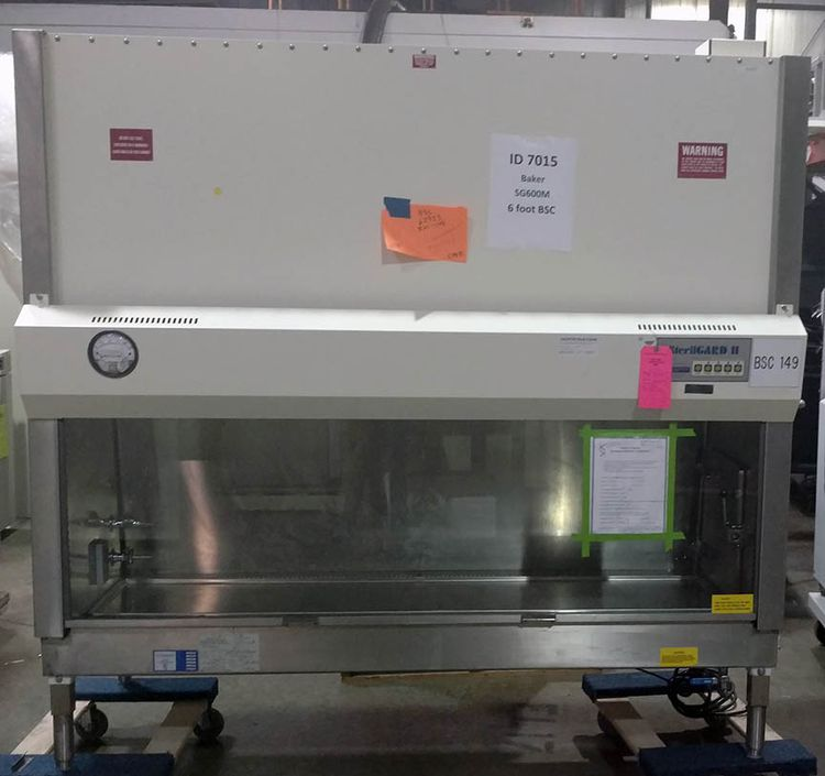 Baker SG600M, 6 foot Type A2 biological safety cabinet