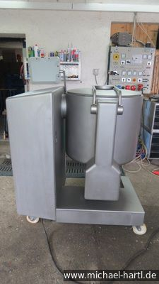 Ruhle MKR 220, Cool tumbler Polterarm and mixing arm