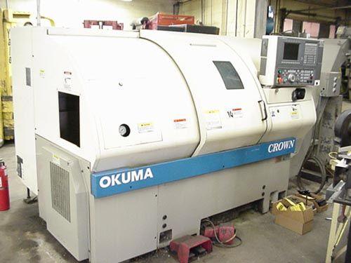 Okuma Okuma OSP 700 CNC 4200 rpm CROWN 762S 2 Axis