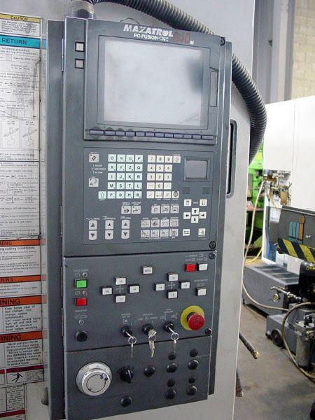Mazak VTC-200/5, CNC Vertical Machining Center 3 Axis