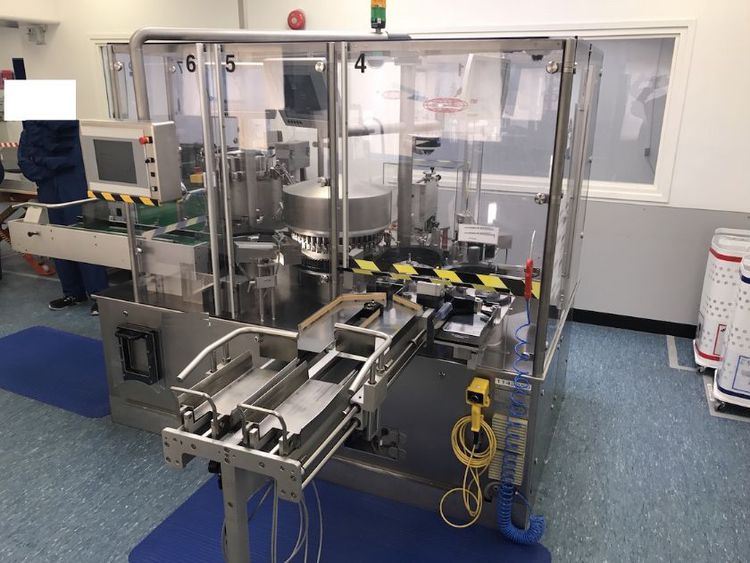 Bausch & Stroebel Esa 1025 labeler  for ampoules , cartridge and vials