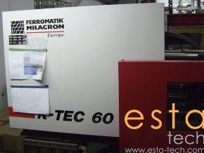 Ferromatik, Milacron K-TEC 60S, PLASTIC INJECTION MOLDING MACHINE 60 Ton