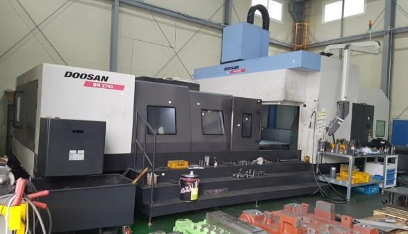 Doosan BM 2740 CNC Bridge Mill 5 Axis