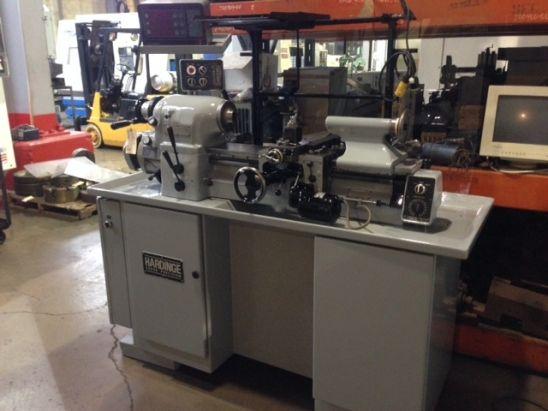 Hardinge Toolroom Lathe 3000 rpm HLV-H with DRO