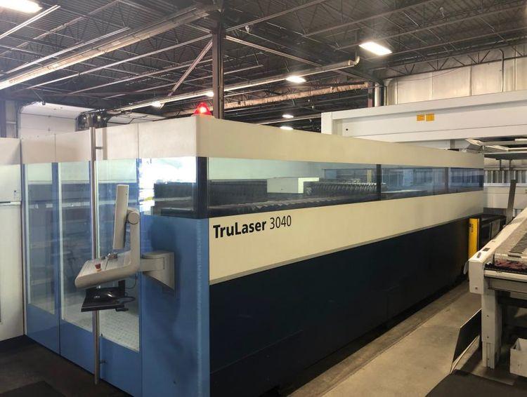 Trumpf TruLaser 3040 CO2 Laser Cutting System cnc control