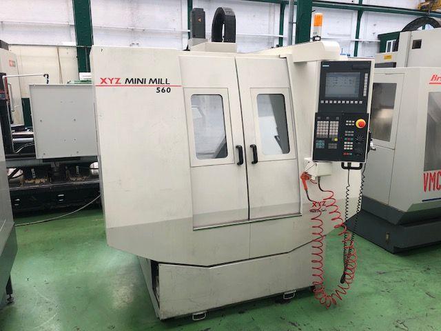 XYZ 560 Mini Mill 3 Axis