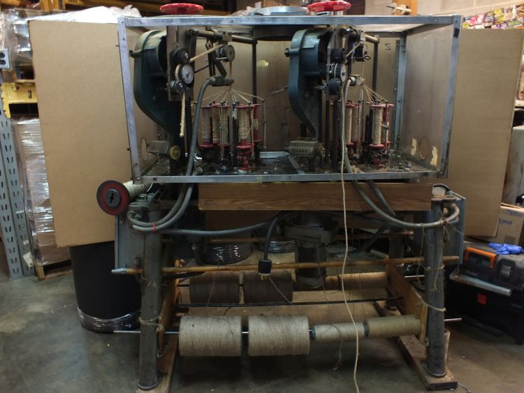 Others Dual Cabinet Small Square Braider 8 Carrier / 2 Track