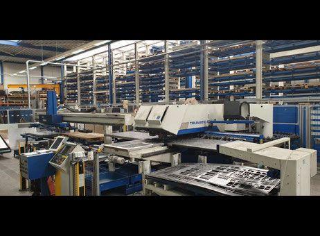 Trumpf Trumatic 6000 L Combining machine laser / punch Siemens Sinumerik 840D