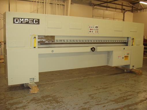 Ompec TRO/10 Single knife guillotine