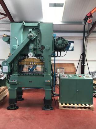 Bruderer BSTA 50HL high speed press. 50 Ton