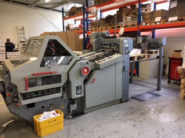 Stahl KD78/6 KTL, Folding Machine