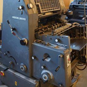 Heidelberg GTO 46 + N+P 32 x 46 cm