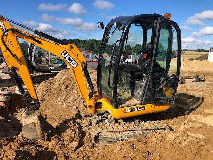 JCB 8018CTS Excavator
