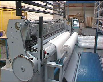 "Steppex High Speed 100"" 3NR ELTRON 9.8 Quilting machines"