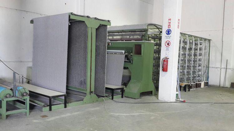 Cut Pile Tufting Machine