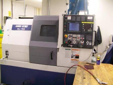 "Mori Seiki MORI MSD-501 (FANUC 21T) CNC CONTROL WITH 10"" LCD SCREEN Max. 5000 rpm SL-150MC 2 Axis"