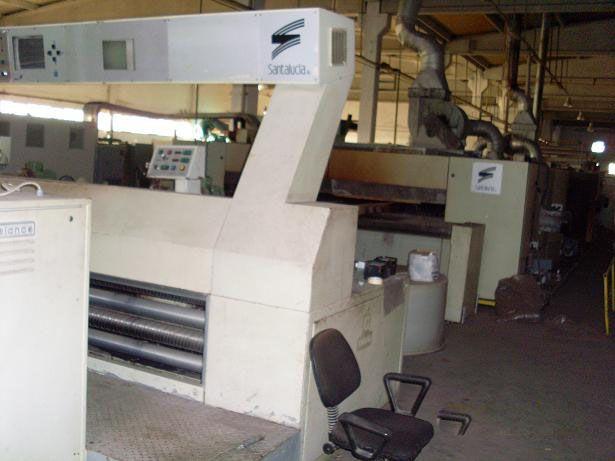 Santa lucia 240 Cm Stenter Machine