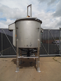 Others 1,000 Gal Top Agitated Mixing Tank