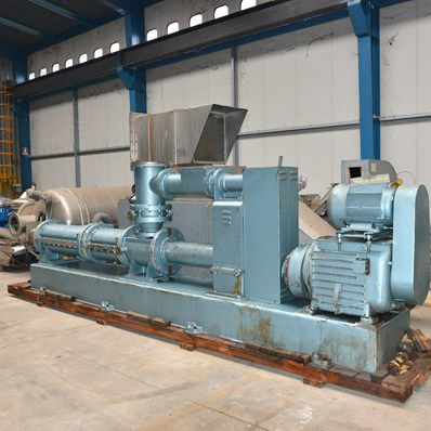 Baker Perkins Continuous Jacketed Screw Mixer