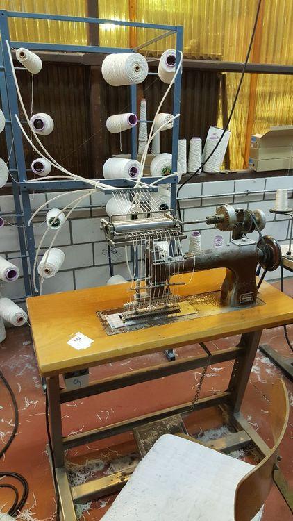 Broadstreet . Multiple cutpile table tufting machines