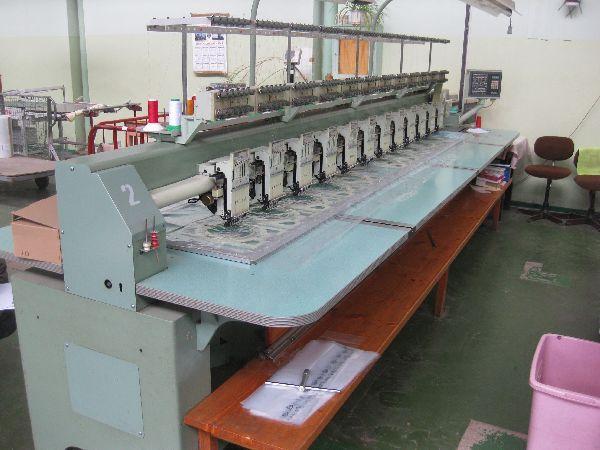 2 Tajima TMEF - H612, Electronic Multihead Automatic Embroidery 6 12
