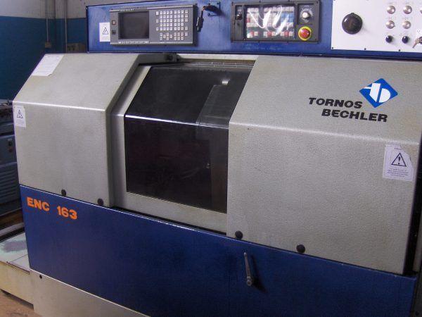 Tornos CNC GE Fanuc Series 18-T Variable B ECHLER ENC 163 2 Axis