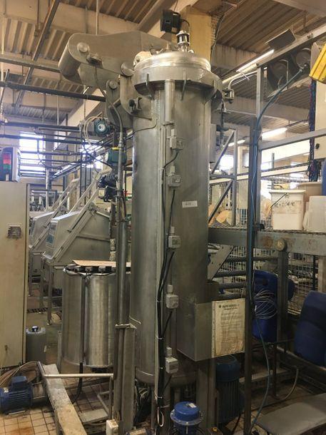 SMTI SREVHS vertical dyeing autoclave