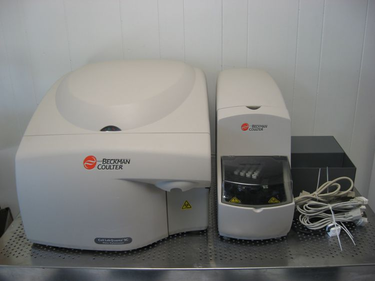 Beckman Coulter LAB QUANTA SC BECKMAN COULTER CELL LAB QUANTA SC FLOW CYTOMETER SYSTEM