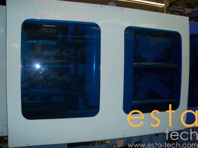 4 Chen Hsong JM850, PLASTIC INJECTION MOLDING MACHINE 820 Ton