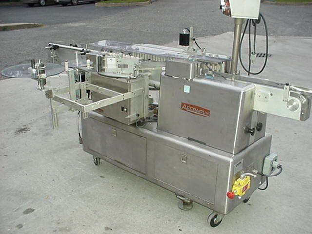 Accraply 4000-HV , AUTO PRESSURE SENSITIVE LABELER