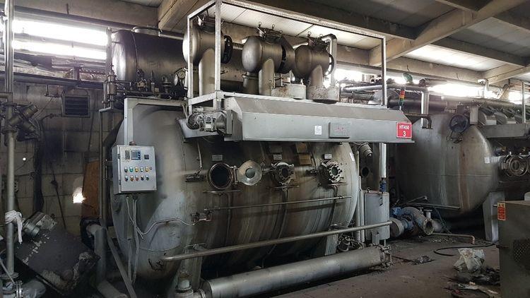 13 Canlar, Kromsan, Metal makina HT Fabric Dyeing Machine 50-900 Kg