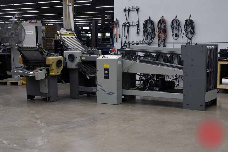 Baum 2020, Continuous Feed Paper Folder