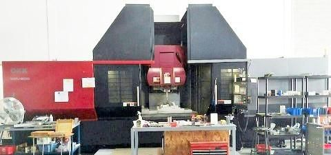 OKK KCV800-5AX CNC 5-Axis Vertical Machining Center 5 Axis