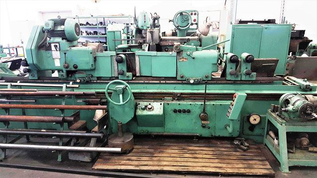 TOS BUT 63/3000, cylindrical grinding machine universal