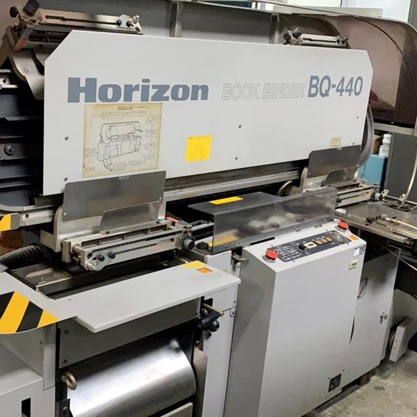 Horizon BQ-440, 4 Clamp Perfect Binder
