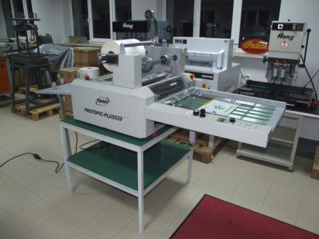 GMP Protopic Plus 520 Laminating Machine