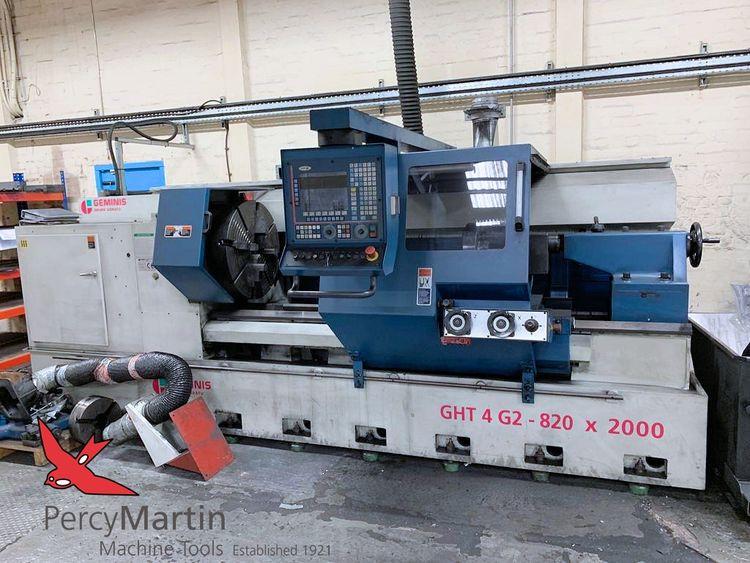Geminis FAGOR 8055T 1600 rpm GHT4 G2-820 x 2000 2 Axis