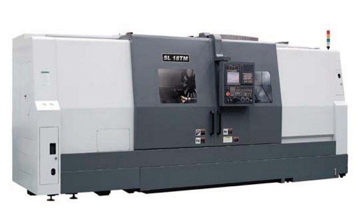 100 Samsung Fanuc  0i-TD 2,000 RPM SL 18T 3000 2 CNC HORIZONTAL TURNING CENTER