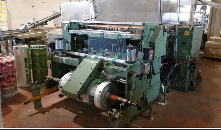 Cassoli PAC 602 RT / TR & KTW wrapping automatic M/C, perfect working cond.