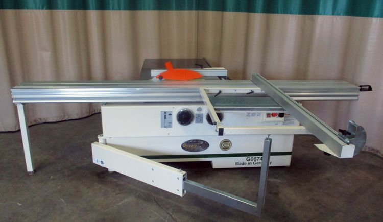 Grizzly G0674, 3-phase Sliding table saw