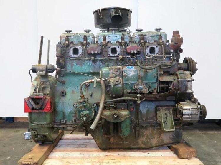 Scania DN8-01A Marine diesel engine
