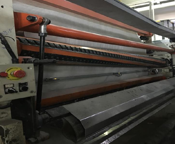 Perini Complete 2700 mm 450m/ mn TR Rewinder Type Bravo 78.21, with Perini lamination type 49.01 , 2 unwind & print 2 col & packaging of 2016, BACK FOR SALE FEB 2020