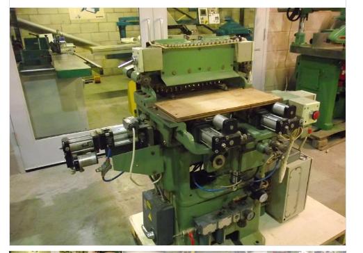 Brookmann 15-RPA, Dovetail Machine