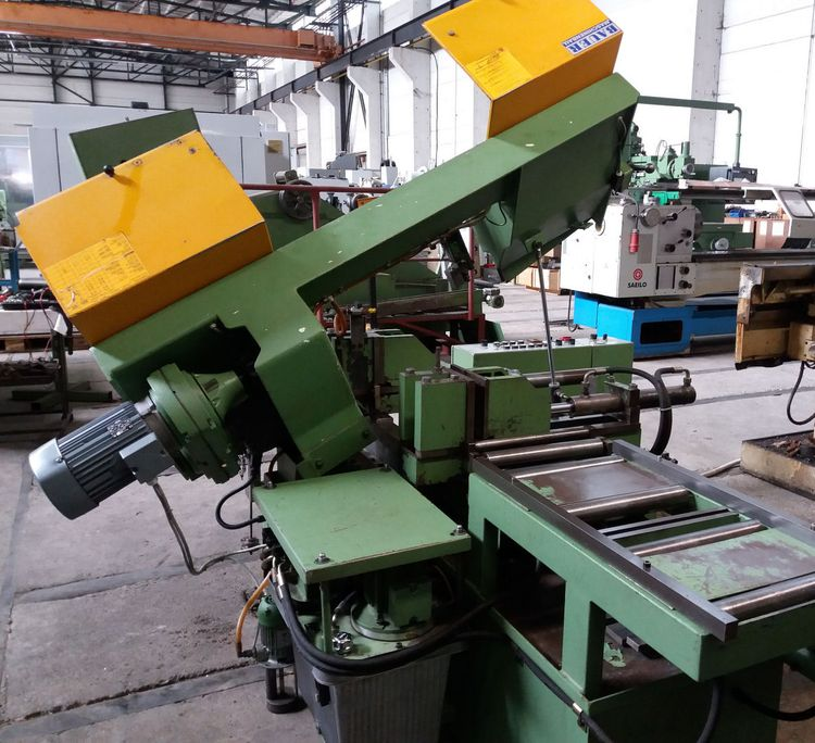 Bauer HS 260 ZA Vertical Band Saw Semi Automatic