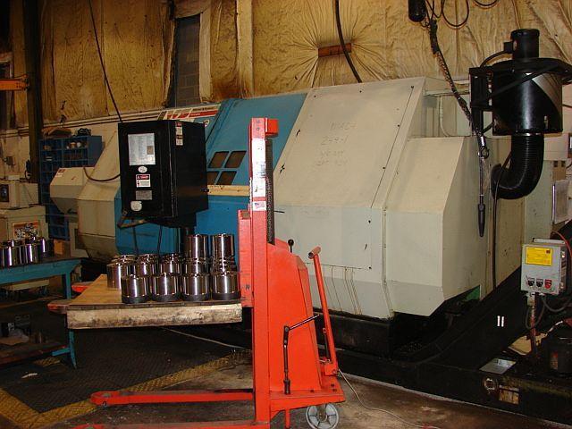 Titan, Warner & Swasey Fanuc-GE GN11 CNC Control 2500 rpm M-Series CNC Lathe, New