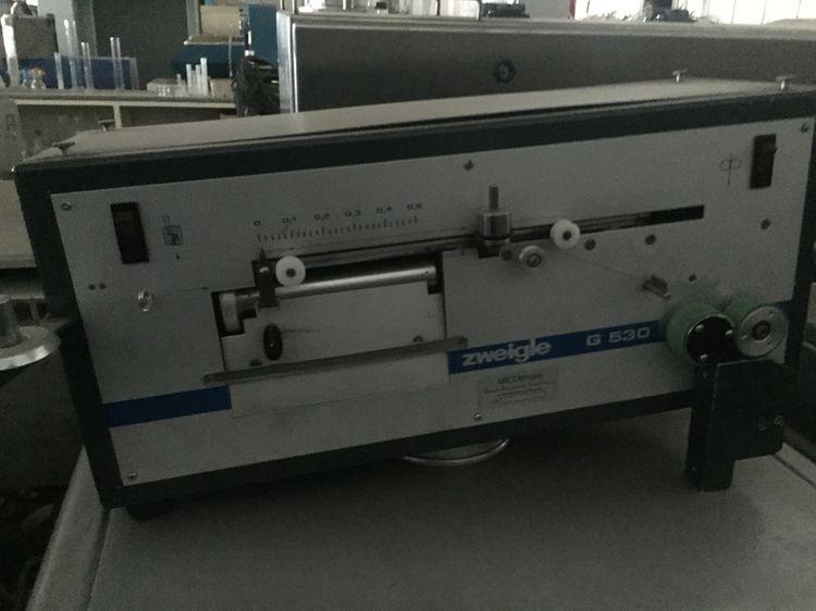 Zweigle G 530 Yarn friction measure machine
