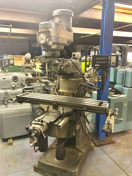 Bridgeport SERIES I VERTICAL MILL Max. 4200 rpm