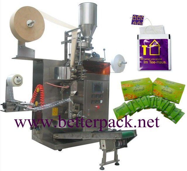 100 Others BT-18 1000*950*2000mm autoamtic tea bags packaging machinery with outer envelope