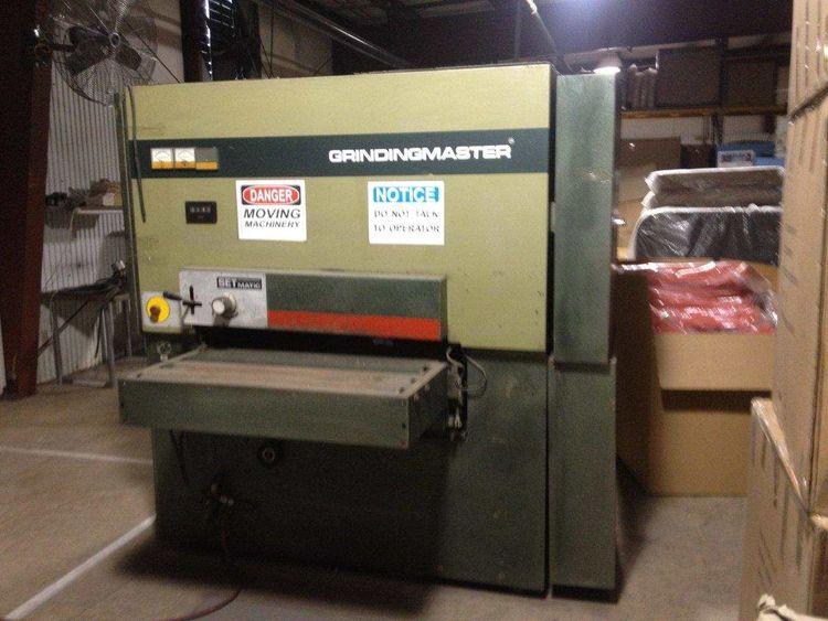 GrindingMaster MCSBB-900, Dual Operation Belt Sanger / Brush Deburrer Machine